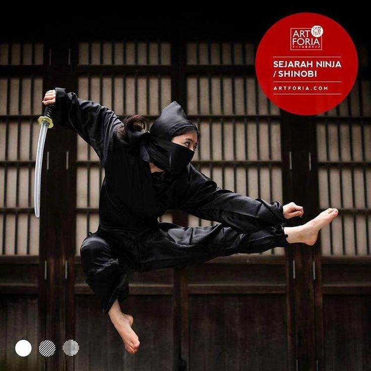 """15 Suka, 2 Komentar - ARTFORIA アートは僕のライブ (@art.foria) di Instagram: """"Ninja atau shinobi sebenarnya adalah seorang agen rahasia atau tentara bayaran di zaman feodal…"""""""