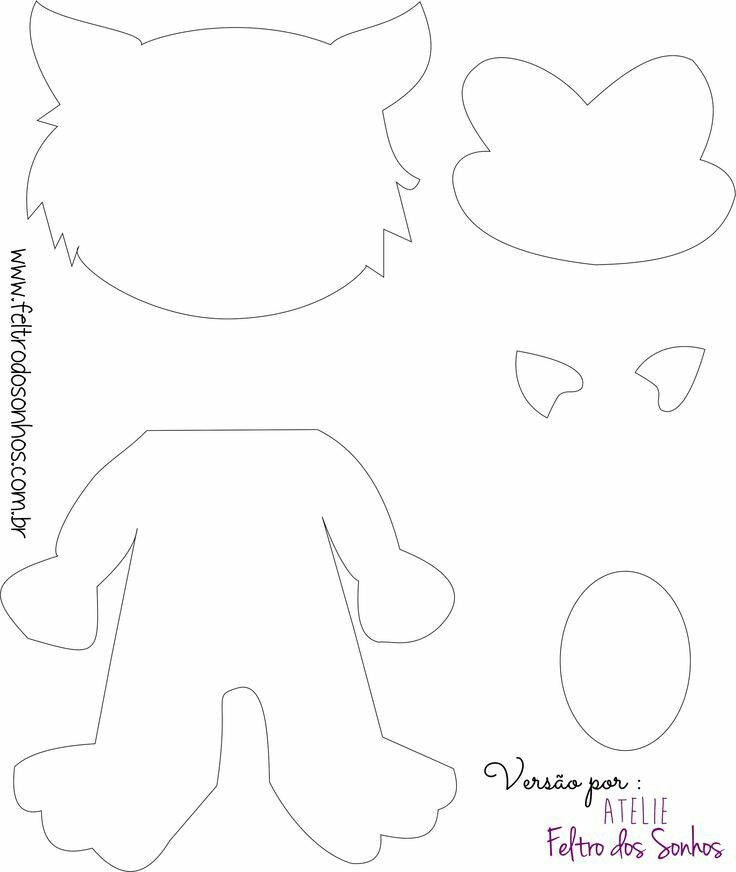 Patty fazendo Arte: Lobo Mau e os Três Porquinhos