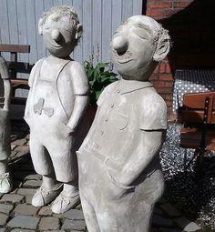 Betonfigur, Betonfiguren, Betonbahn, Gartendekoration, Betonwerkstatt, – De …   – Keramische Kunst