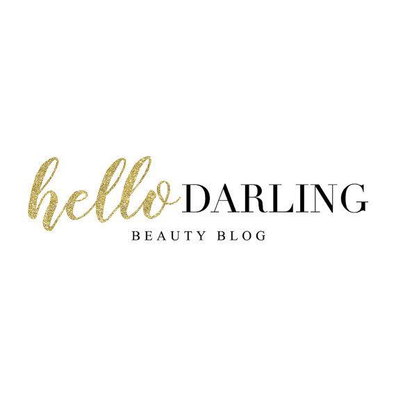 Золото Блеск красоты Blogger Дизайн логотипа Youtube визажист Логотип красоты Блог Фото Логотип Марка