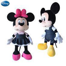 Marka Disney Mickey Mouse Minnie 44cm Duży Pluszowy wypchanych zwierząt zabawki Boys Baby Doll Dziewczyny Zabawki dla dzieci Urodziny Boże Narodzenie Party (Chiny (kontynentalne))