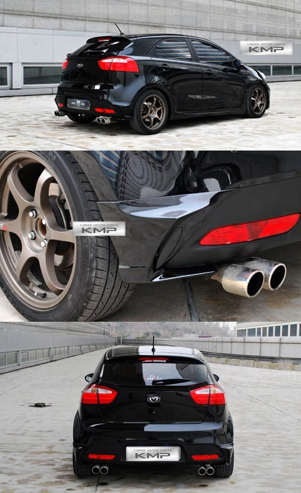 Kia Rio with body kit - Google Search