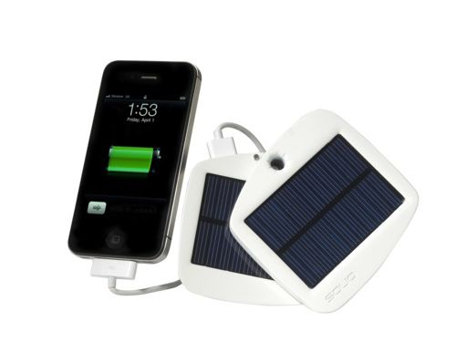 Take this solar-powered phone charger with you on a beach vacation.