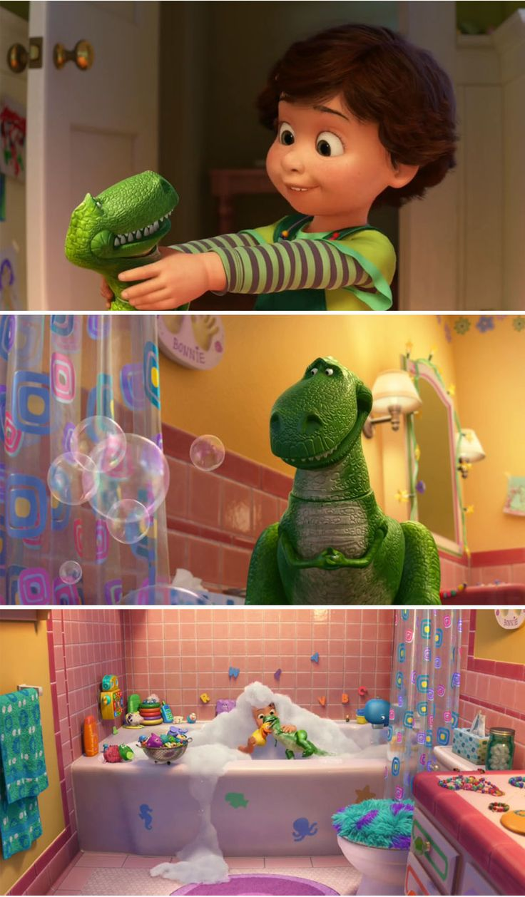 Toy Story Potty Chair : If u look closely in the last picture you can see mike