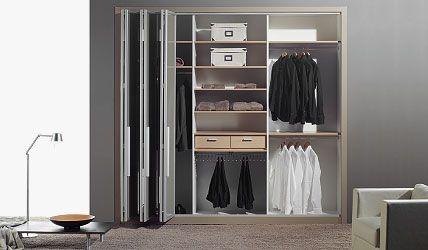 1000 ideas sobre puertas de armario con espejos en - Armario puertas plegables ...