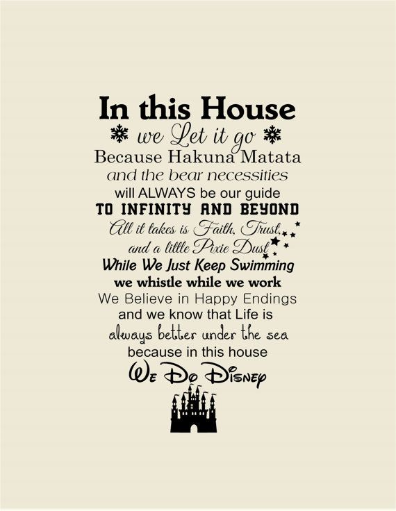 30 best Déco images on Pinterest Disney crafts, Gardens and Home decor - stickers dans cette maison