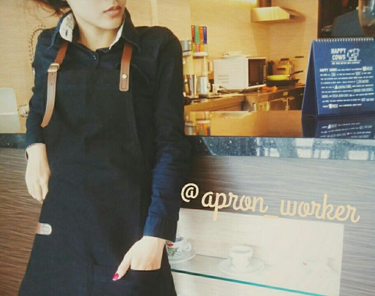 Let's make your own design apron barista..please check our account instagram @apron_worker, or you  can choose design the apron from our catalog, check it out