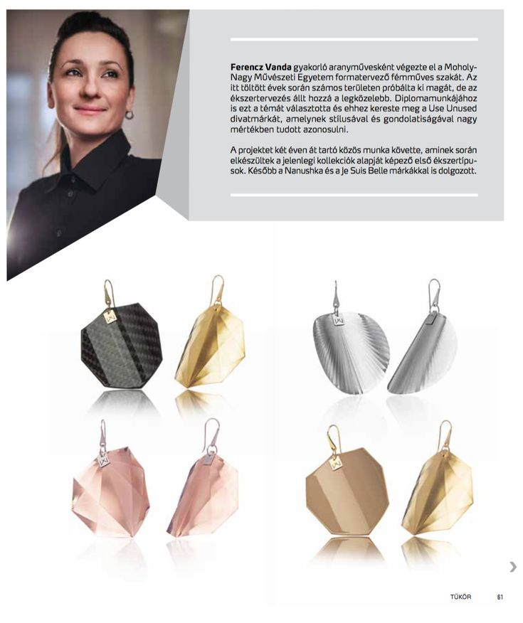 Hungarian Jewellery Designer Press - Vanda Ferencz