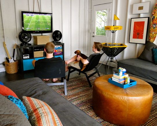 Garage Game Room Teen Retreat Home Inspiration