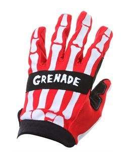 Grenade Skeleshred BMX Gloves Red 2013