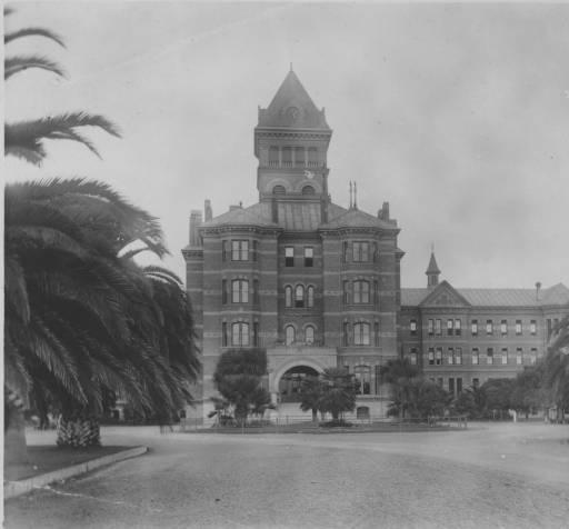 Agnews Asylum Main Building, 1896