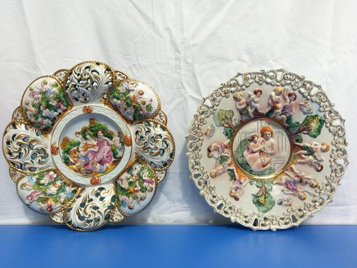 25 beste idee n over decoratieve schilderijen op pinterest krijt verf meubels krijt verf les - Decoratieve platen ...
