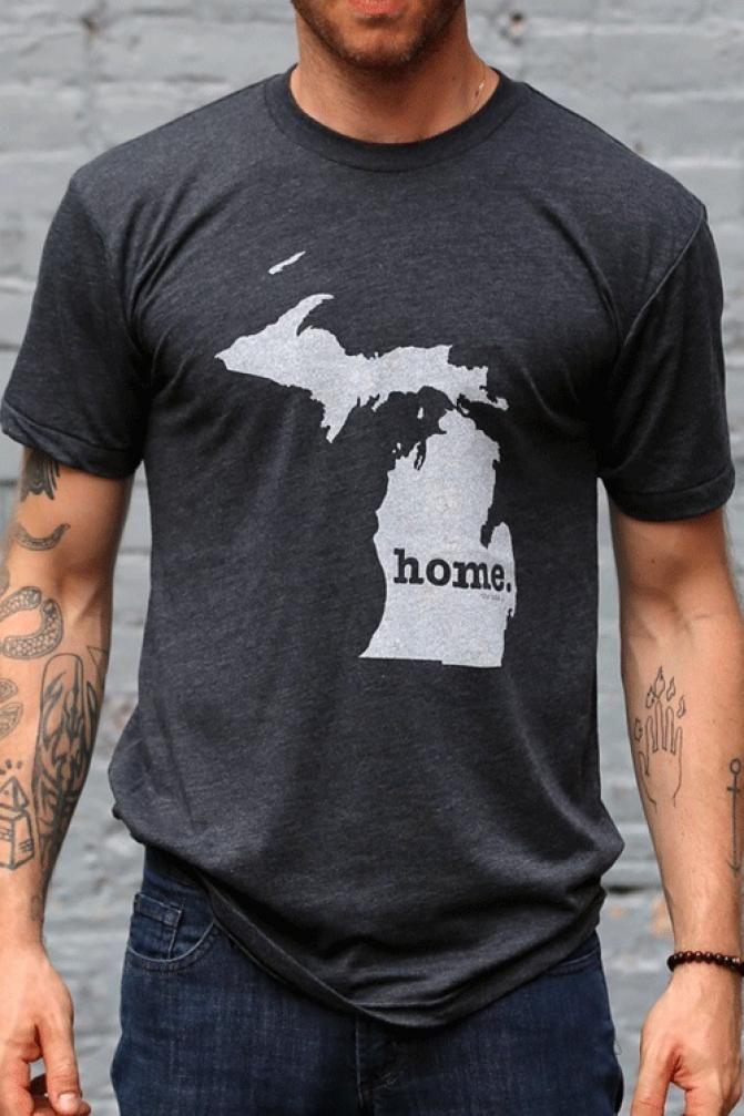 Michigan Home T Shirt   @Eric Lee Lee Senko @Anthony Vargas Vargas Sassi