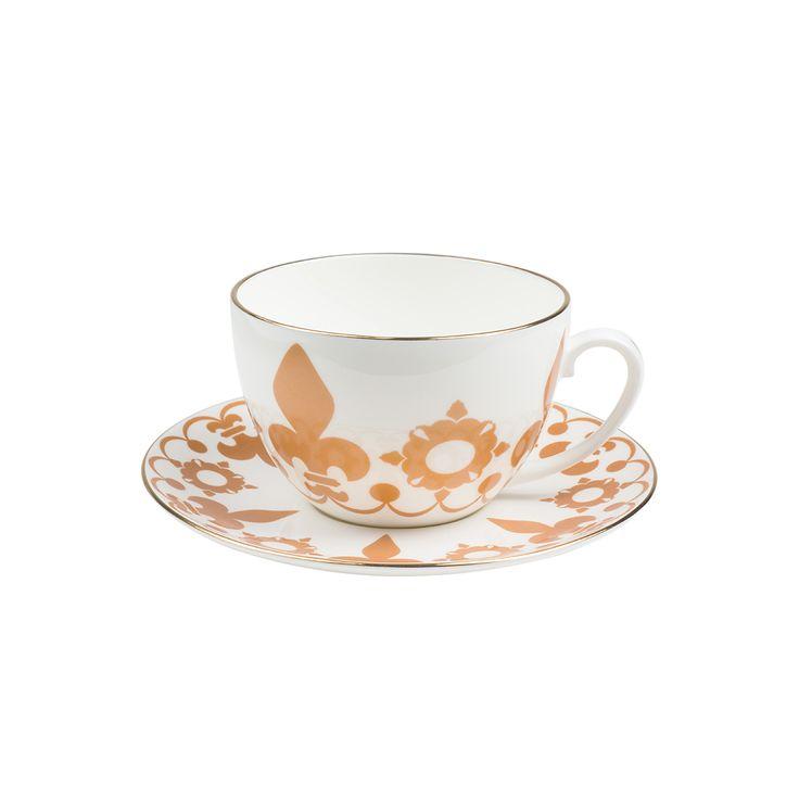 Crown jumbo tea cup and saucer #ShopHistory