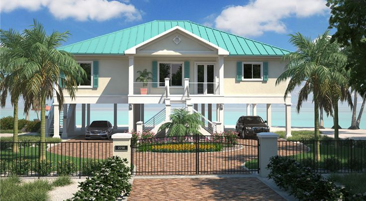 Low Country House Plan 15035nc