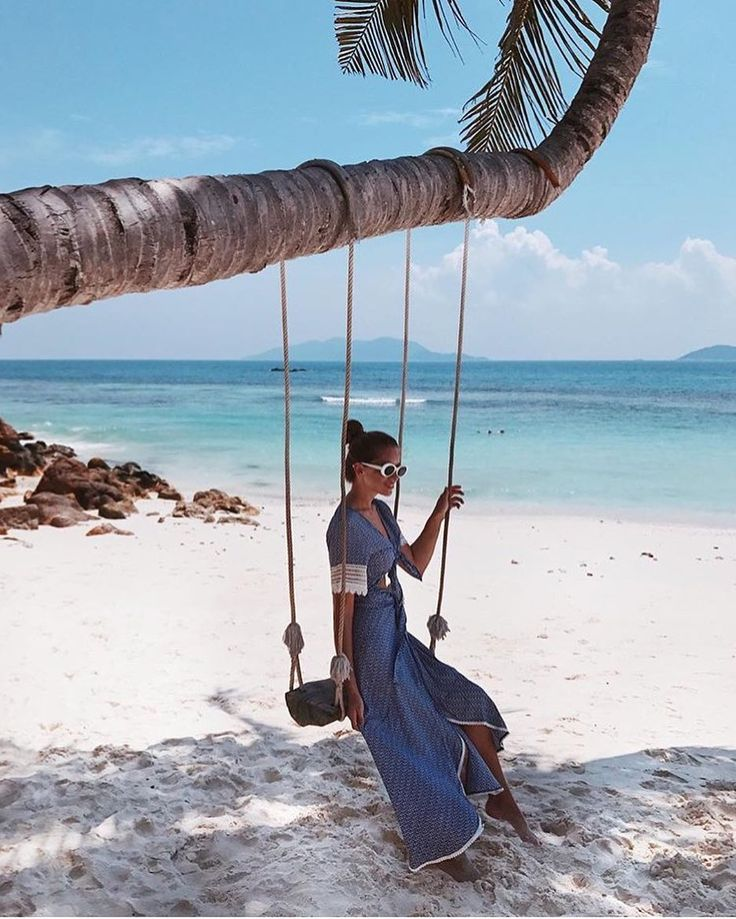 Paradise found || Swinging our days away with @phineloves in our best selling Jade Top & Lucy Skirt in matching Origami Iris (available online now)  #malaysia #exploremore #beachgold