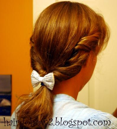 Hairdo How-to: Disney's Beauty and the Beast Belle Hairstyle