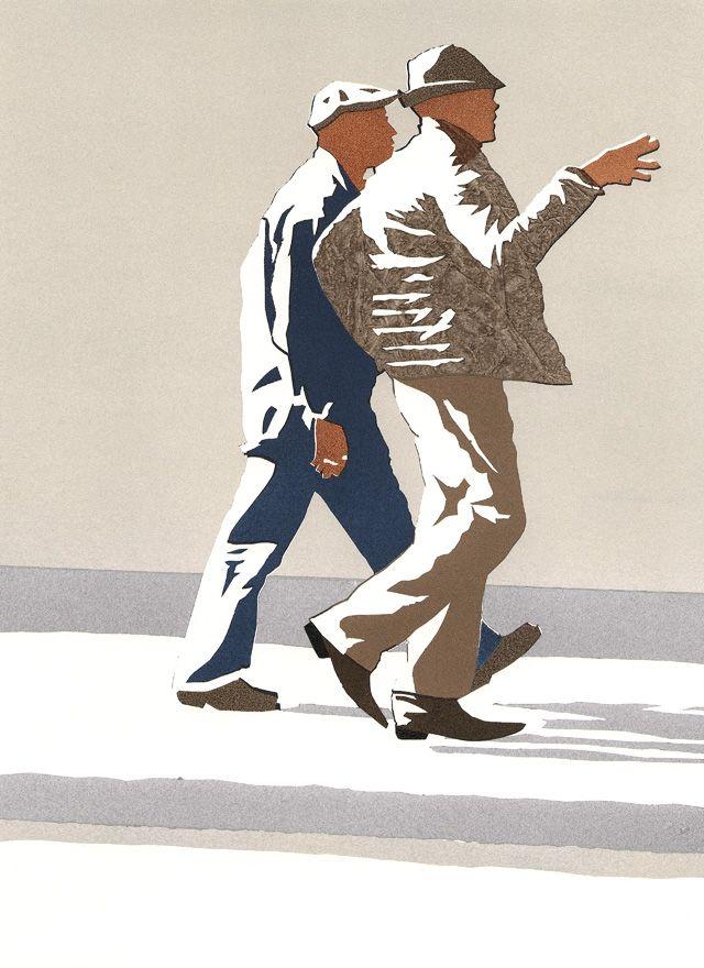 Guys illustration by Amy DeVoogd