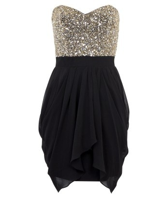 love this dress! Would be so cute for my graduation :): Years Dress, Style, Sparkly Dress, Dresses, Sequin Bust, New Years