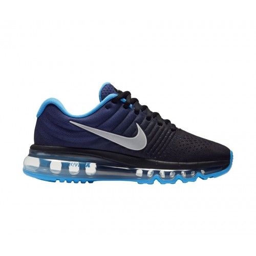 nike air max flyknit 2015 unisex spor ayakkabı black\/purple beach