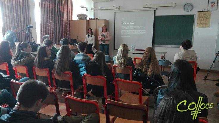 Colloco Marketing na Danima slobodne nastave u Ekonomskoj i birotehničkoj školi Bjelovar #CollocoMarketing