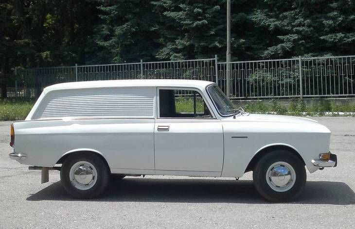 Фургон «Москвич-2734», 1976–1981