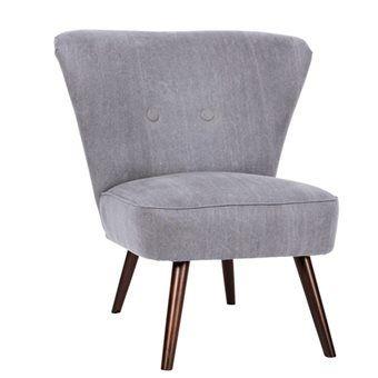 Op deze vtwonen Cocktail Fauteuil kun je neerploffen in stijl! De stoel is comfortabel én heeft ook nog eens een heel strak design! De fauteuil heeft een frisse pastelkleur. De diep donkerbruine kleur van de poten voegt warmte toe aan de fauteuil.