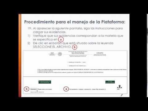EXPEDIENTE DE EVIDENCIAS DE ENSEÑANZA (Tutorial de apoyo) - YouTube