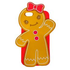 3D Gingerbread Girl Case for iPod Touch 5