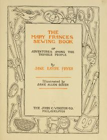 The Vintage Pattern Files: 1910's Sewing - The Mary Frances Sewing Book