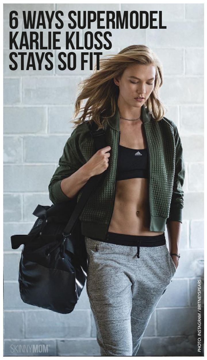 We're stealing celebrity supermodel Karlie Kloss' fitness moves, as she shares how she stays so fit and healthy