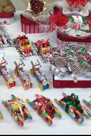 Twirl Pops, Trains and Sleighs--full & fun size