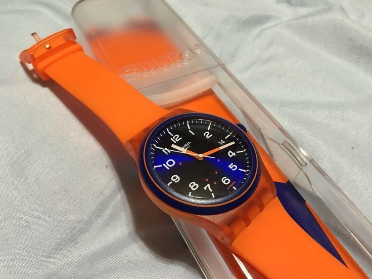 スウォッチ システム51のオレンジ。