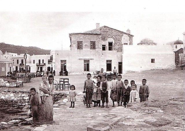 Port of Mykonos, 1908