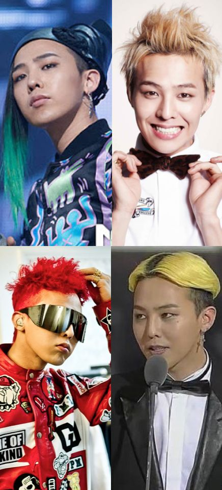 What's your favorite G-Dragon hairstyle?