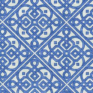 """Lace It Up Aquarium 677261 by Waverly Fabric - 100% COTTON - 0 H: 6.75"""", V: 6.75"""" 54"""" - Fabric Carolina - Waverly"""