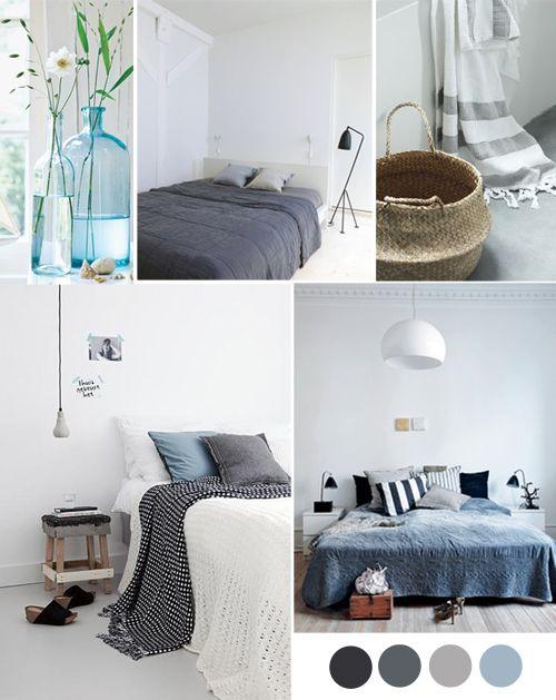 Inspiration couleur : Bleu et Gris