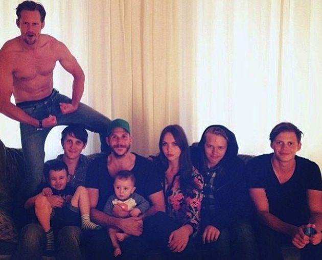 Skarsgard Family