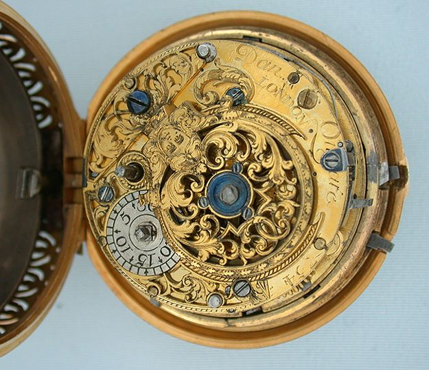 Antique Pocket Watch Steam punk is based on these watch parts.