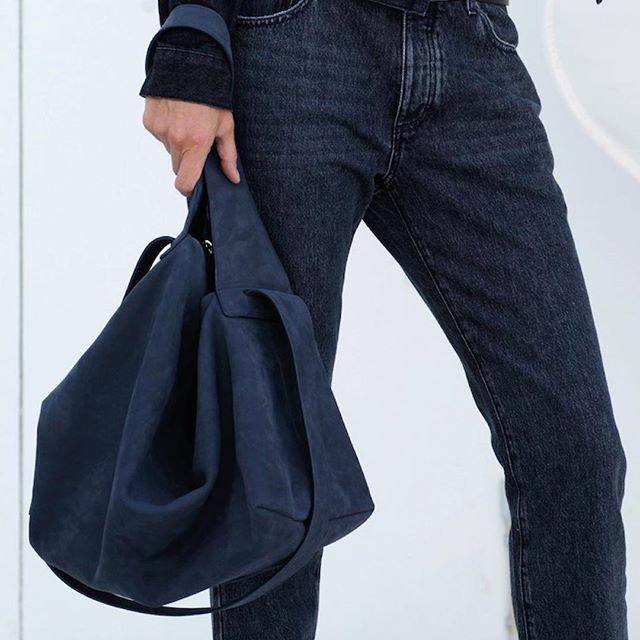 The Ace bag in blue nubuck #noanbags