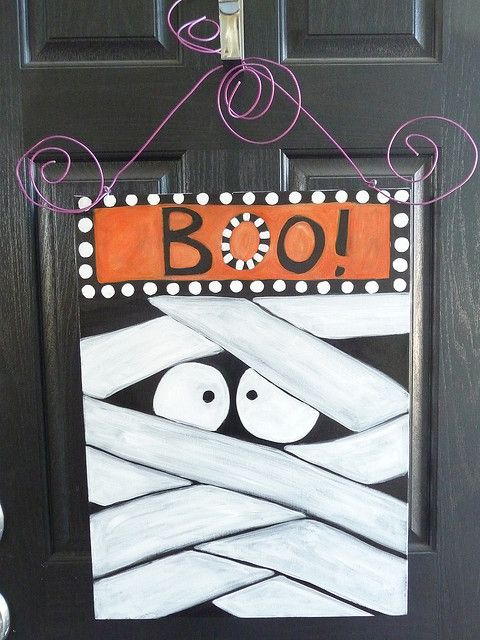 halloween BOO! by shaggydogstudio, via Flickr