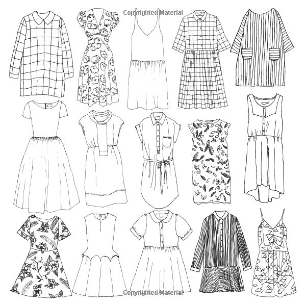 92 best Fashion Coloring Pages images on Pinterest | Coloring books ...