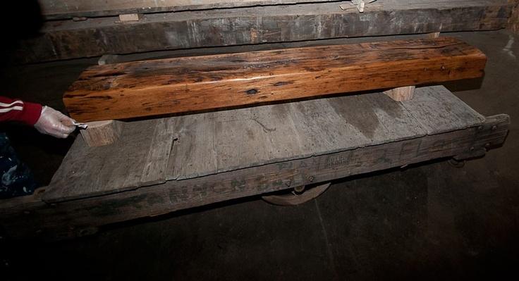 Reclaimed Wood Barn Beam Fireplace Mantel Mantle Shelf Via Etsy For The Home