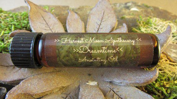 Dreamtime onction à l'huile d'armoise / / huile essentielle / bio / / Wicca / / Magic / / rituels / / Astral projection / / Protection