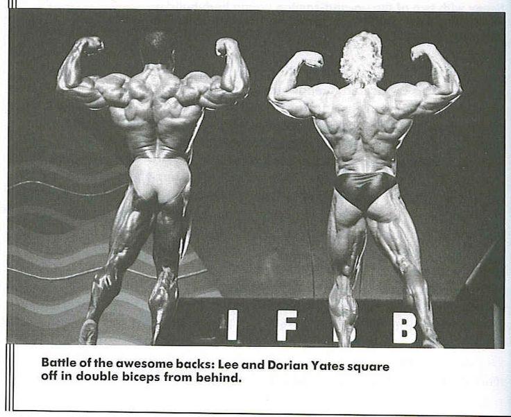 Lee Haney vs Dorian Yates