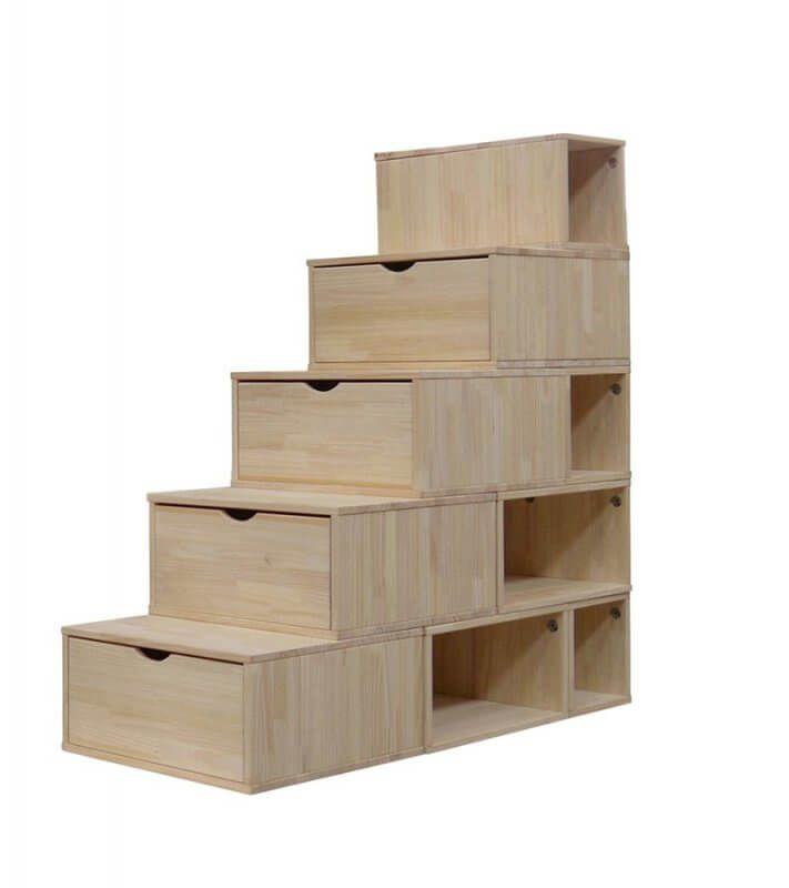 17 meilleures id es propos de tiroirs d 39 escalier sur pinterest stocka - Escalier mezzanine rangement ...