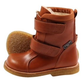 Cognac Tex boots from Angulus