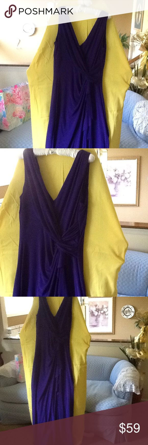 Ralph Laurent dresses Gorgeous. Ralph Laurent dresses. Nice purple color, ready for party💕💕💕💕 Dresses Maxi