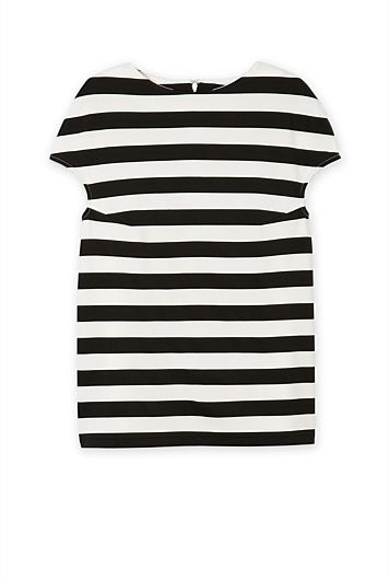Country Road - stripe ponte top