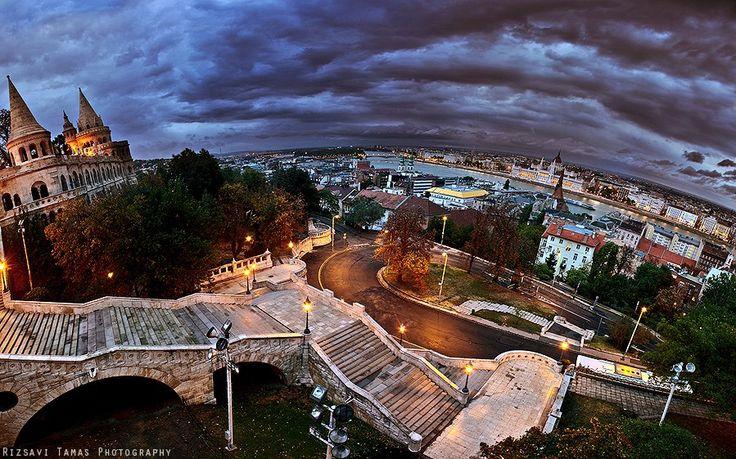 View with Halászbástya